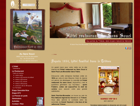 Hotel restaurant Monestier de Clermont -...