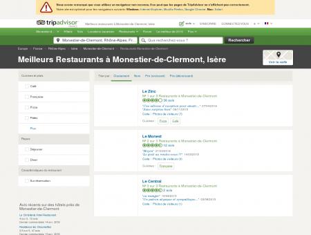 Les meilleurs restaurants à Monestier-de...