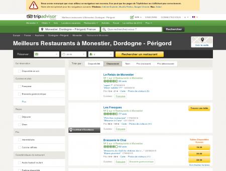 Les 5 meilleurs restaurants à Monestier -...