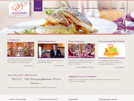 Escarbille | Auberge gastronomique