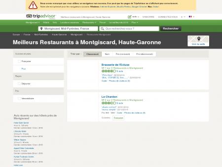Les meilleurs restaurants à Montgiscard -...