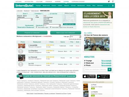 Restaurant Montgiscard : Le guide des...