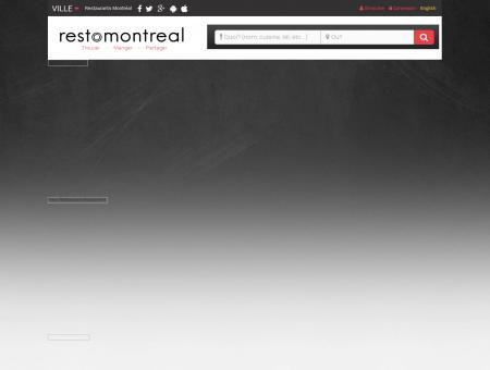 Restaurants Montréal | RestoMontreal