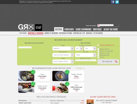 Répertoire de restaurants à Montréal, Québec...
