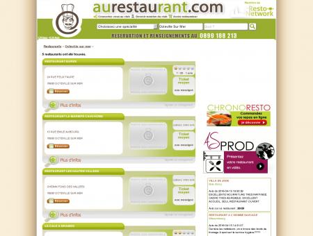 Les restaurants de OCTEVILLE SUR MER -...