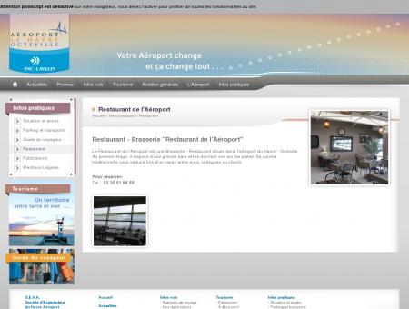 Restaurant - Aéroport Le Havre - Octeville