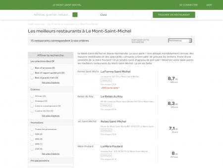 Les 10 meilleurs restaurants à Le Mont-Saint...
