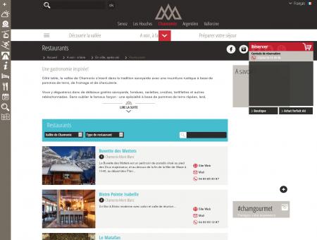 Restaurant Chamonix  Chamonix :...