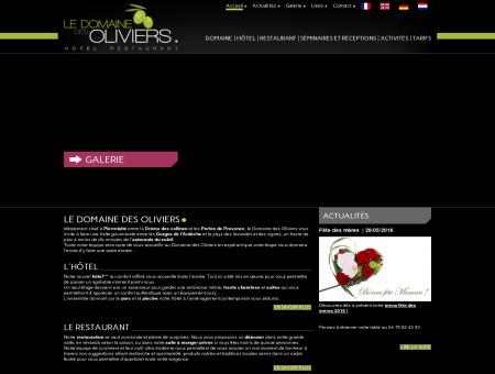 Accueil Domaine des Oliviers à Pierrelatte,...