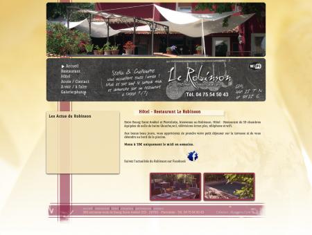 Hôtel - Restaurant Le Robinson
