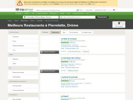 Les 10 meilleurs restaurants à Pierrelatte -...