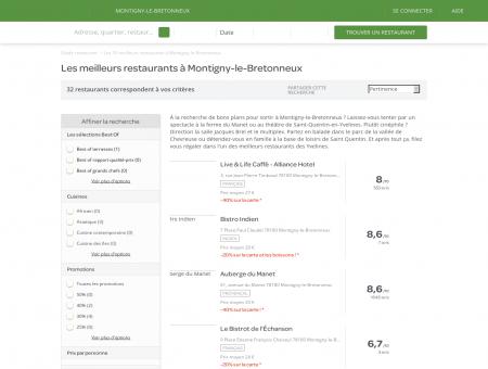 Les 10 meilleurs restaurants à Montigny-le...