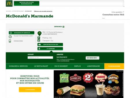 restaurant marmande