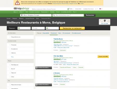 Les 10 meilleurs restaurants à Mons -...