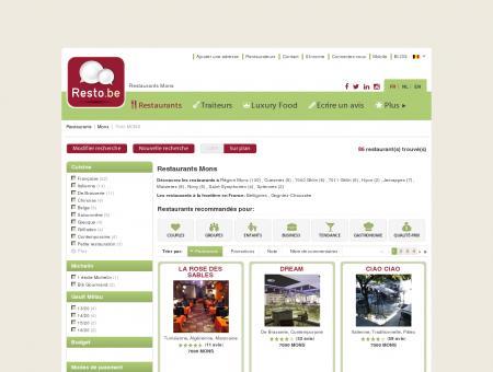 Restaurant Mons - Guide Restaurants Mons -...