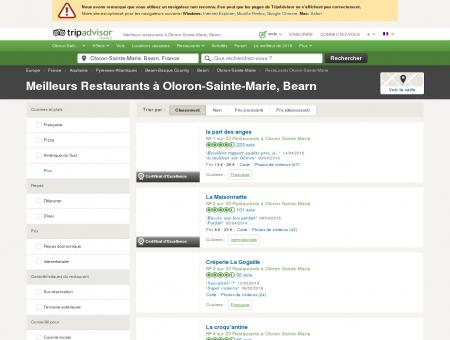Les 10 meilleurs restaurants à Oloron-Sainte...