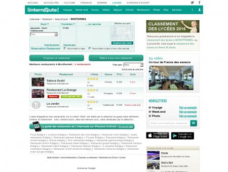 Restaurant Montfermeil : Le guide des...