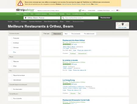 Les 10 meilleurs restaurants à Orthez -...