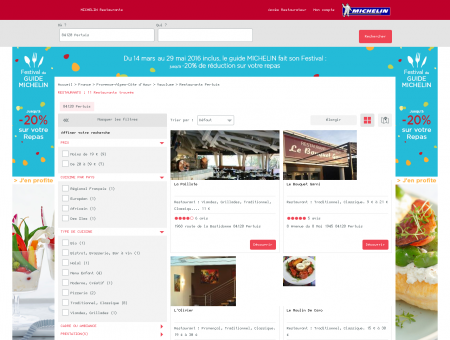 Restaurants 84120 Pertuis - MICHELIN...