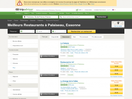 restaurant palaiseau