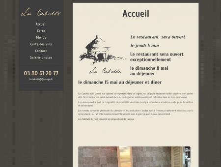Accueil | La Cabotte