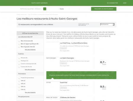 Les 10 meilleurs restaurants à Nuits-Saint...