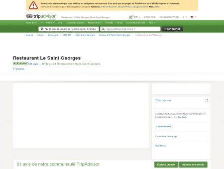 Restaurant Le Saint Georges, Nuits-Saint...