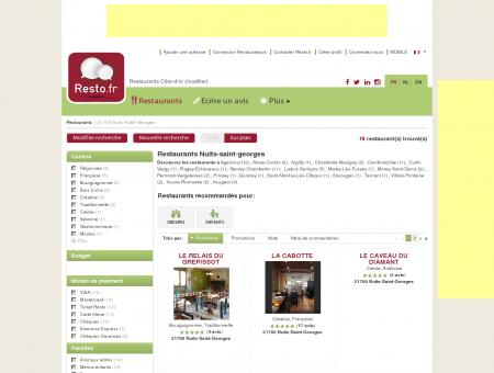 Restaurant Nuits-Saint-Georges - Guide...