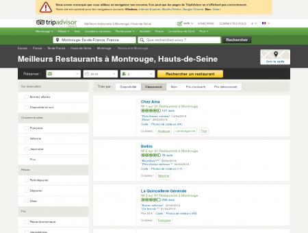 Les 10 meilleurs restaurants à Montrouge -...