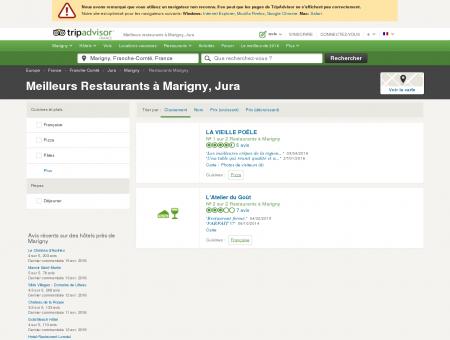 Les meilleurs restaurants à Marigny -...