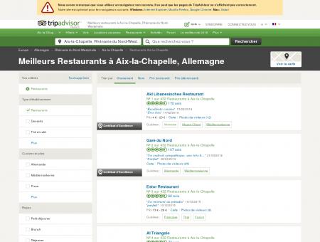 Les 10 meilleurs restaurants à Aix-la-Chapelle ...