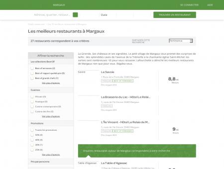 Les 10 meilleurs restaurants à Margaux -...