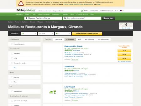 Les 5 meilleurs restaurants à Margaux -...