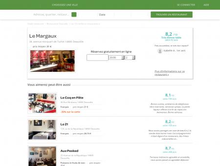 Restaurant Le Margaux | le-margaux.lafourchette.com