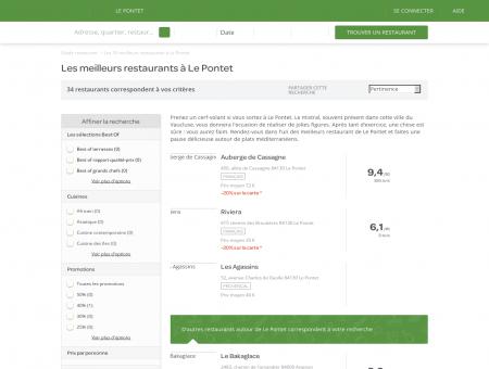 Les 10 meilleurs restaurants à Le Pontet -...