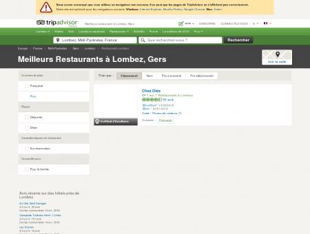 Les meilleurs restaurants à Lombez - TripAdvisor