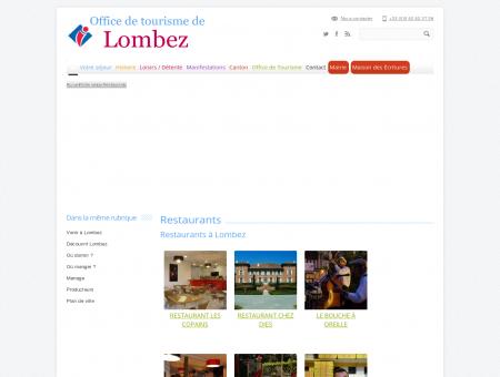 Restaurants   Office de Tourisme de Lombez...