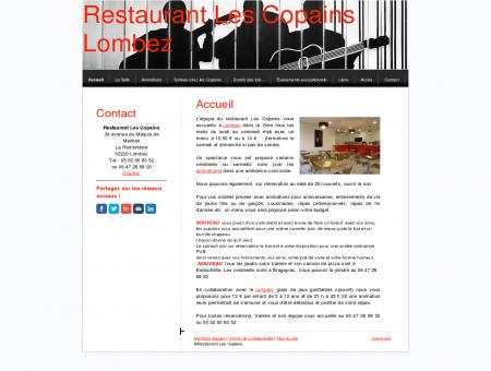 Site officiel du restaurant les Copains à...
