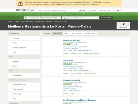 Les 10 meilleurs restaurants à Le Portel -...
