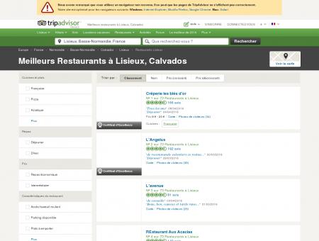 Les 10 meilleurs restaurants à Lisieux -...