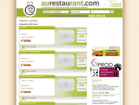 Les restaurants de LE FOUSSERET -...