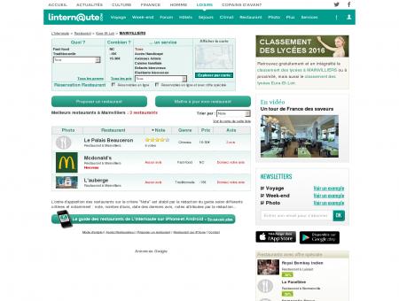 Restaurant Mainvilliers : Le guide des...