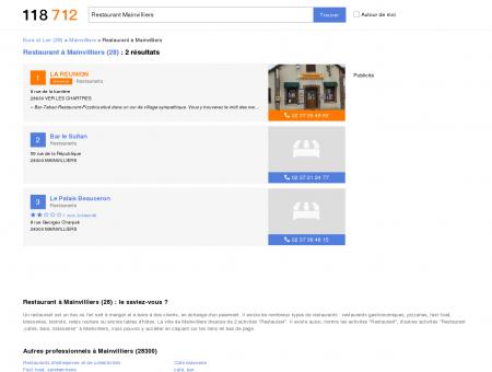 Restaurant à Mainvilliers (28300) - 118712 :...