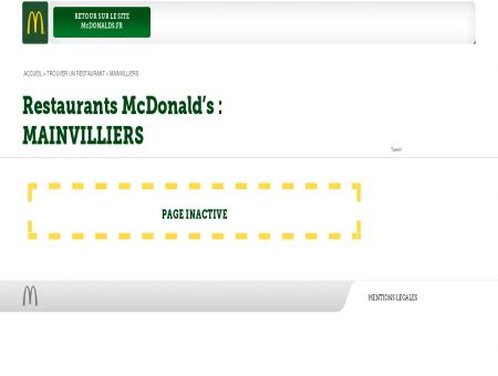Tous les restaurants McDonald's de...