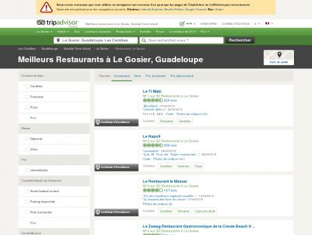 Les 10 meilleurs restaurants à Le Gosier -...