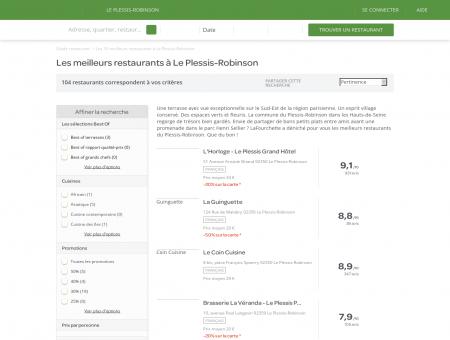 Les 10 meilleurs restaurants à Le Plessis...