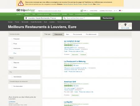 Les 10 meilleurs restaurants à Louviers -...