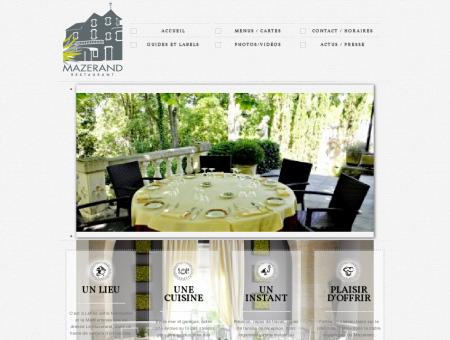 Le Mazerand, Restaurant à Lattes,hérault | Le...