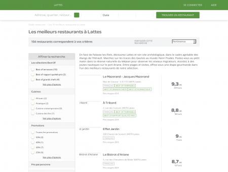 Les 10 meilleurs restaurants à Lattes -...