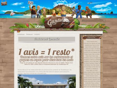 Restaurant Lamentin sur Guadeloupe.net